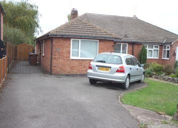 Thumbnail 3 bed semi-detached bungalow for sale in The Fairway, Burbage, Hinckley