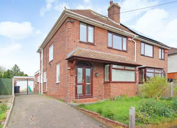 Thumbnail 3 bed semi-detached house for sale in Lovell Road, Rough Common, Canterbury