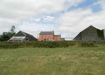 Thumbnail 4 bed farmhouse for sale in Bryn Heulog, St. Clears, Carmarthen, Carmarthenshire.