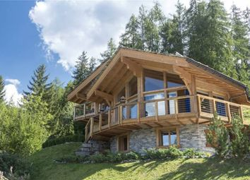 Thumbnail 4 bed chalet for sale in Stunning And Light Family Chalet, La Tzoumaz, Valais, Valais, Switzerland