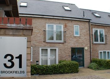 Thumbnail 1 bed flat to rent in Brookfields, Cambridge