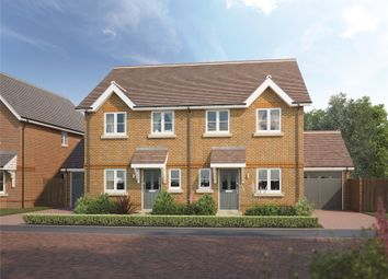 Thumbnail 3 bed semi-detached house for sale in West End, Woking, Surrey