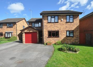 Thumbnail 4 bed detached house for sale in Agincourt Close, Wokingham