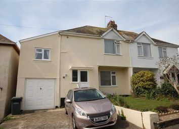 Thumbnail 3 bedroom semi-detached house for sale in Burton Place, Central Area, Brixham