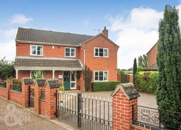 Thumbnail 4 bed detached house for sale in St. Johns Close, Coltishall, Norwich