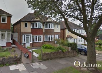 Thumbnail 3 bedroom semi-detached house to rent in Corisande Road, Birmingham, West Midlands.