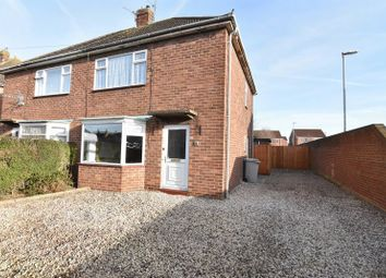 Thumbnail 2 bed semi-detached house for sale in Broadley Crescent, Louth