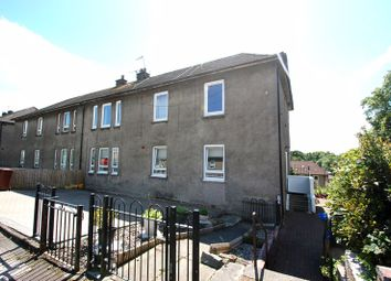 Thumbnail 3 bed flat for sale in Dalgleish Avenue, Duntocher, Clydebank