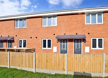 Thumbnail 2 bed terraced house for sale in Old Folkestone Road, Aycliffe, Dover, Kent