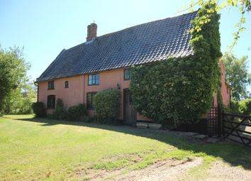 Thumbnail 5 bed farmhouse for sale in Moat Farm, Upgate Street, Bedingham, Bungay, Suffolk