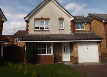 Thumbnail 4 bed detached house to rent in Mulberry Crescent, Chapelhall, North Lanarkshire