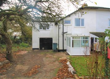 Thumbnail 4 bed semi-detached house for sale in Talaton, Exeter, Devon