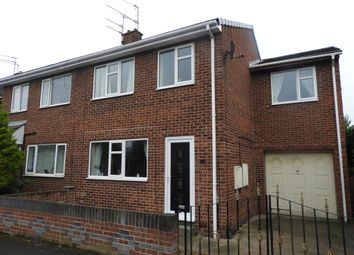 Thumbnail 4 bed semi-detached house for sale in Halmshaw Terrace, Bentley, Doncaster