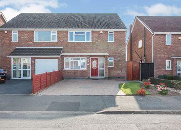 Thumbnail 3 bed semi-detached house for sale in Villa Crescent, Bulkington, Bedworth, Warwickshire