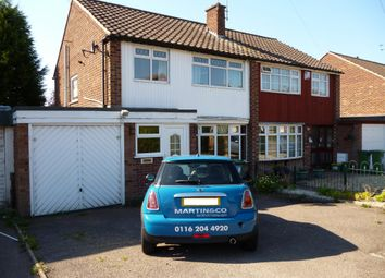 Thumbnail 3 bedroom semi-detached house to rent in Farmway, Leicester