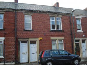 Thumbnail 2 bedroom flat to rent in Northbourne Road, Jarrow