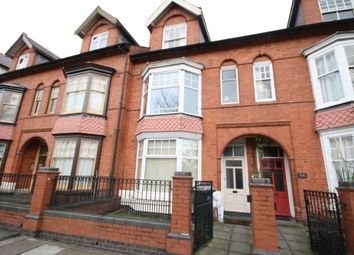 Thumbnail 4 bed terraced house to rent in Fosse Road South, Leicester