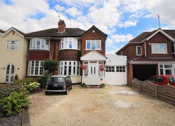 Thumbnail 3 bed semi-detached house for sale in Keswick Road, Solihull