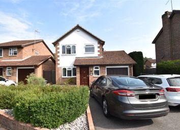 Thumbnail 3 bed detached house for sale in Medlar Drive, Blackwater, Camberley, Hampshire
