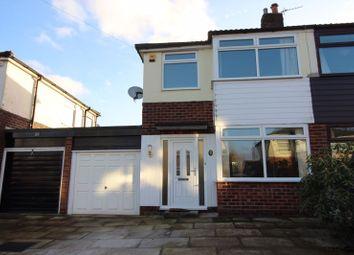 Thumbnail 3 bed semi-detached house to rent in Saxon Close, Elton, Bury