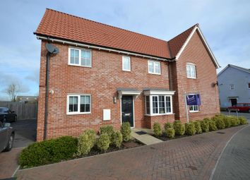 Thumbnail 3 bed semi-detached house to rent in Legerton Drive, Clacton-On-Sea