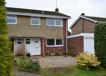 Thumbnail 3 bed semi-detached house for sale in The Pentlands, Kintbury, Hungerford