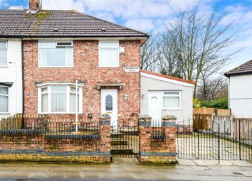 Thumbnail 4 bed end terrace house for sale in Morningside Road, Liverpool, Merseyside