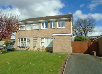 Thumbnail 3 bed semi-detached house for sale in Tudor Road, The Farthings, Shrewsbury