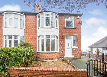 Thumbnail 3 bed semi-detached house for sale in The Gardens, Heath Road, Halifax, West Yorkshire