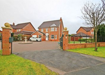 Thumbnail 4 bed detached house for sale in Pewterspear Green Road, Appleton, Warrington