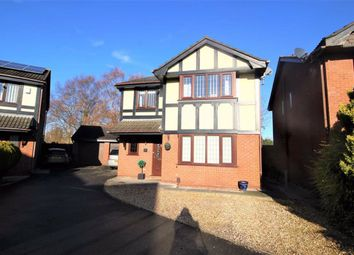 Thumbnail 4 bed detached house for sale in Lincoln Chase, Lea, Preston