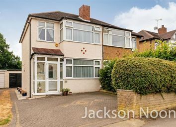 Thumbnail 3 bed semi-detached house for sale in Crosslands Road, West Ewell, Epsom