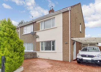 Thumbnail 2 bed semi-detached house for sale in Shakespeare Avenue, Cefn Glas, Bridgend.