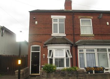 Thumbnail 1 bed end terrace house to rent in Tame Road, Witton