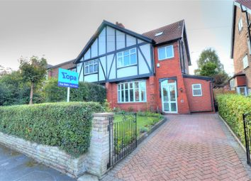 Thumbnail 5 bed semi-detached house for sale in Barkers Lane, Sale