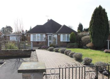 Thumbnail Detached bungalow for sale in Broom Close, Chellaston, Derby