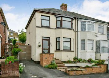 Thumbnail Semi-detached house for sale in Tennyson Road, Beechwood, Newport