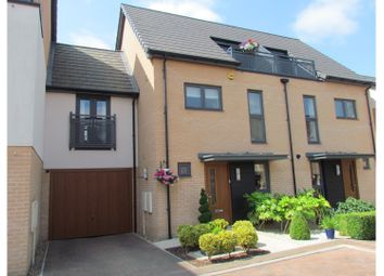 Thumbnail 4 bed town house for sale in Neath Farm Court, Cherry Hinton, Cambridge