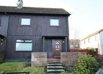 Thumbnail 3 bed end terrace house for sale in Helmsdale Crescent, Dundee
