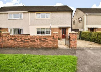 Thumbnail 4 bed semi-detached house for sale in The Close, Aberdare