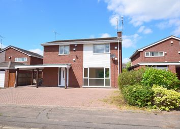 Thumbnail 4 bed detached house for sale in Vardon Drive, Coventry, West Midlands