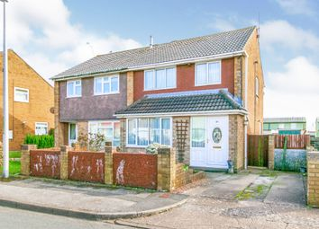 Thumbnail 3 bed semi-detached house for sale in Falcon Road, Barry