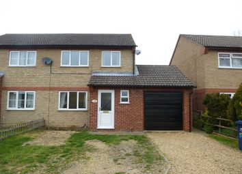 Thumbnail 3 bedroom semi-detached house to rent in Swift Close, March