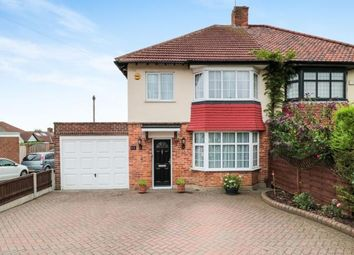 Thumbnail 3 bedroom semi-detached house for sale in Woodford, Green, Essex