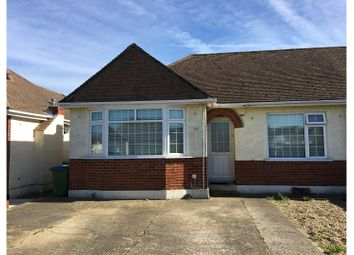 Thumbnail 3 bed semi-detached bungalow for sale in St. Michaels Grove, Fareham
