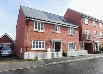 Thumbnail 4 bed detached house to rent in Allard Way, Saffron Walden