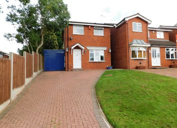Thumbnail 3 bed detached house for sale in Carisbrooke Drive, Western Downs, Stafford