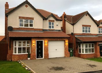 Thumbnail 4 bedroom detached house for sale in The Coppice, Easington Colliery, Peterlee