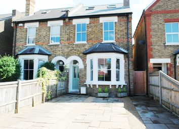 Thumbnail 5 bed semi-detached house for sale in Ditton Road, Surbiton, Surrey
