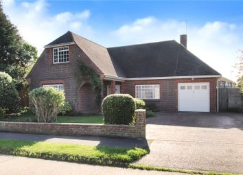 Thumbnail 3 bed detached house for sale in Windmill Drive, Rustington, West Sussex